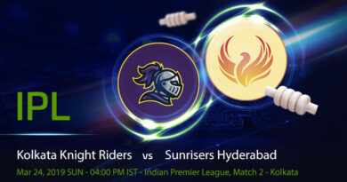 Cricket Prediction Indian Premier League – Kolkata Knight Riders vs Sunrisers Hyderabad – Runners up SRH take on KKR in the game two of IPL