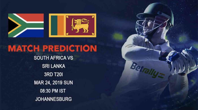 Cricket Prediction Sri Lanka tour of South Africa – South Africa vs Sri Lanka – Clueless Sri Lanka look to avoid clean sweep