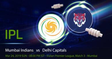 Cricket Prediction Indian Premier League – Mumbai Indians vs Delhi Capitals – Mumbai Indians begin their campaign against Delhi Capitals