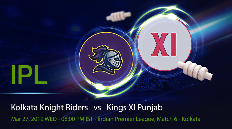 Cricket Prediction Indian Premier League – Kolkata Knight Riders vs Kings XI Punjab – Power hitters clash in an exciting match