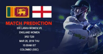 Cricket Prediction England Women tour of Sri Lanka 2018/19 – Sri Lanka women vs England women – Sri Lanka women take on England in the final T20 game