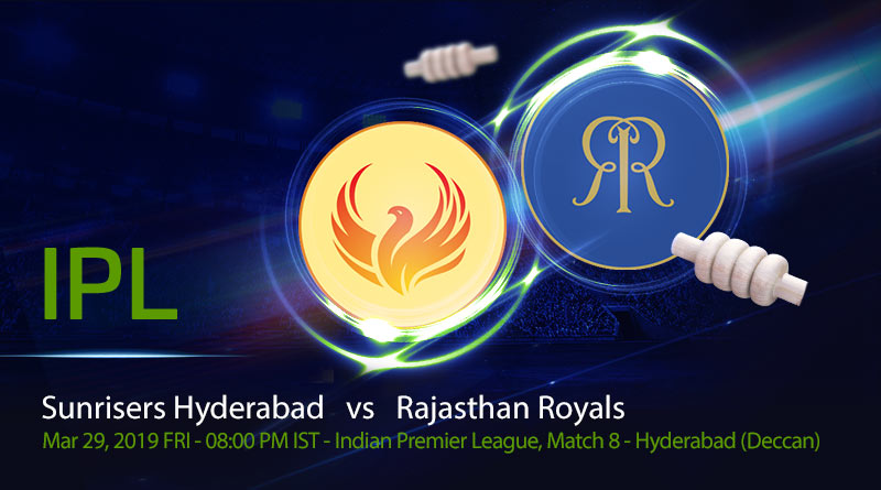 Cricket Prediction Indian Premier League – Sunrisers Hyderabad vs Rajasthan Royals – Rajasthan Royals look to move away from Ashwin-Mankad controversy