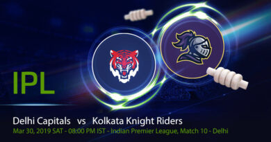 Cricket Prediction Indian Premier League – Delhi Capitals vs Kolkata Knight Riders – Red hot KKR look to continue their winning run