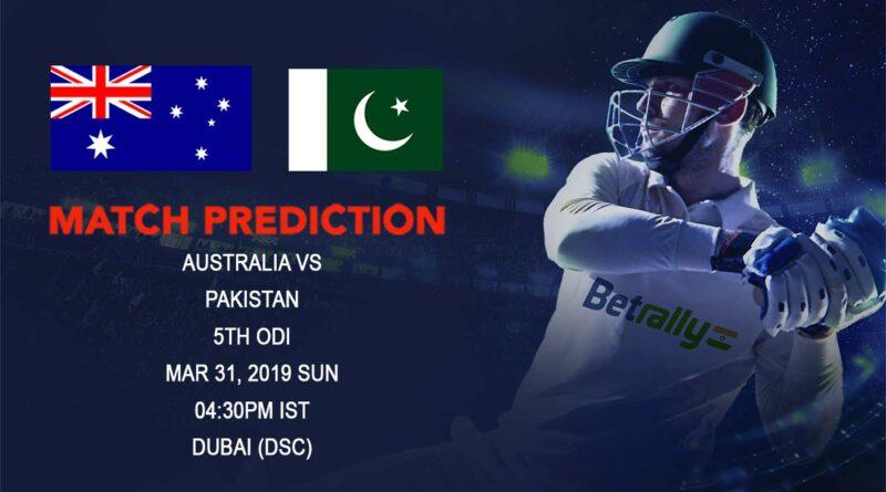 Cricket Prediction Australia tour of United Arab Emirates – Australia vs Pakistan – Marvelous Australia look to sign off UAE tour with a win