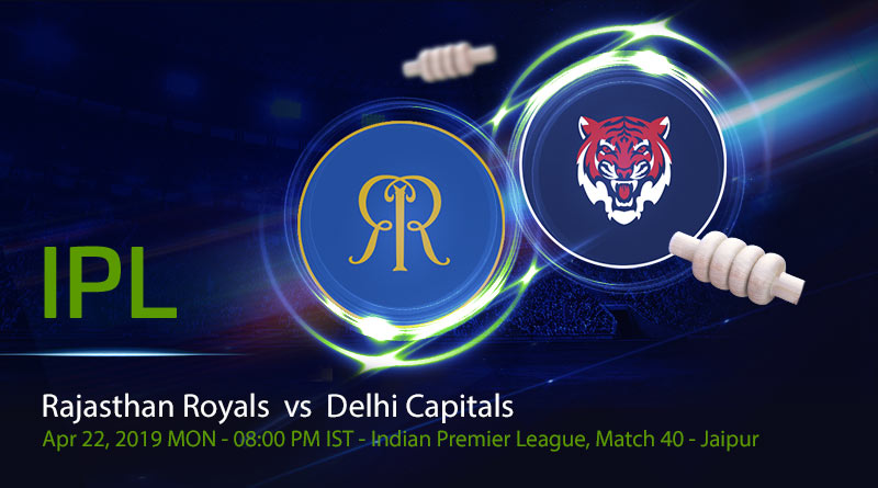 Cricket Prediction Indian Premier League –Rajasthan Royals vs Delhi Capitals – DC take on RR for the first time