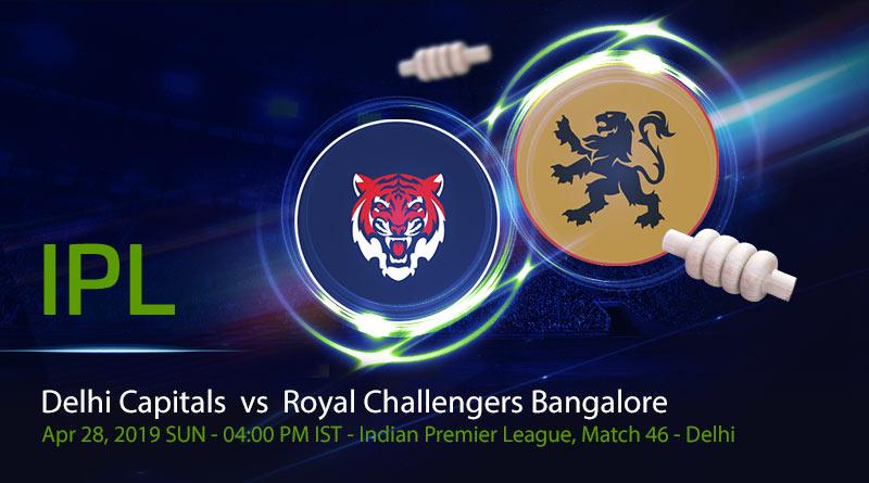 Cricket Prediction Indian Premier League – Delhi Capitals vs Royal Challengers Bangalore – On a roll Royal Challengers Bangalore take on in-form Delhi Capitals