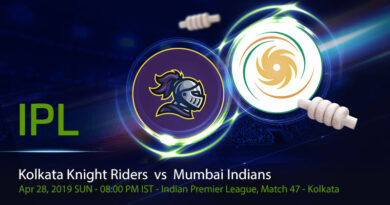 Cricket Prediction Indian Premier League – Kolkata Knight Riders vs Mumbai Indians – Down on morale Kolkata Knight Riders take on Mumbai Indians