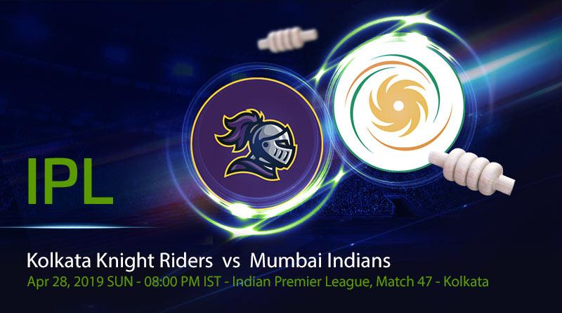 Cricket Prediction Indian Premier League – Kolkata Knight Riders vs Mumbai Indians – Down on morale Kolkata Knight Riders take on Mumbai Indians