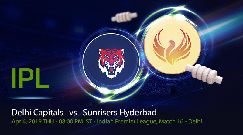 Cricket Prediction Indian Premier League – Delhi Capitals vs Sunrisers Hyderabad – Inconsistent Delhi Capitals take on in-form Sunrisers Hyderabad