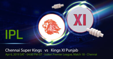 Cricket Prediction Indian Premier League – Chennai Super Kings vs Kings XI Punjab – In form Chennai Super Kings and Kings XI Punjab take on each other in an important game
