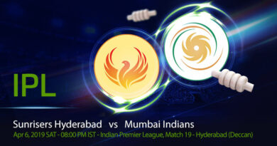 Cricket Prediction Indian Premier League – Sunrisers Hyderabad vs Mumbai Indians – Red hot Sunrisers Hyderabad take on inconsistent Mumbai Indians
