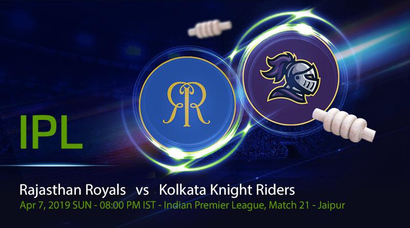 Cricket Prediction Indian Premier League – Rajasthan Royals vs Kolkata Knight Riders – Fresh from their win, Rajasthan Royals take on Kolkata Knight Riders