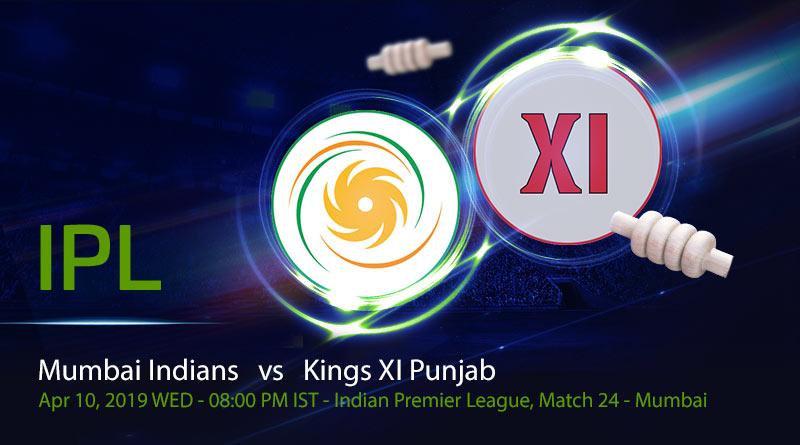 Mumbai Indians vs Kings XI Punjab