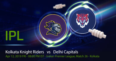 Cricket Prediction Indian Premier League – Kolkata Knight Riders vs Delhi Capitals – Kolkata and Delhi meet again after an epic super over encounter