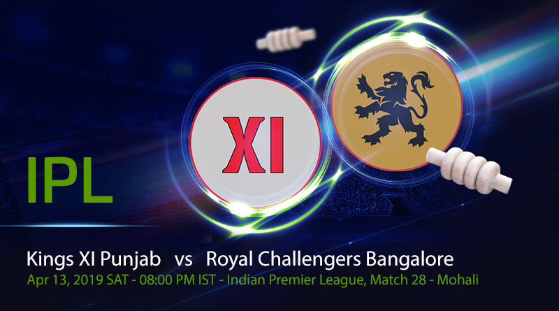 Cricket Prediction Indian Premier League – Kings XI Punjab vs Royal Challengers Bangalore – Bruised Royal Challengers Bangalore take on Kings XI Punjab