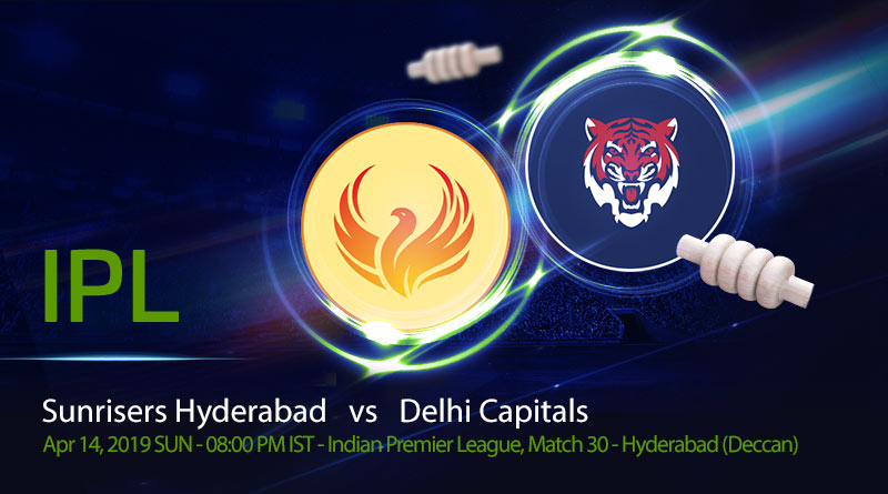 Cricket Prediction Indian Premier League – Sunrisers Hyderabad vs Delhi Capitals – Teams stuck in the middle look to rise on the points table