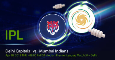 Cricket Prediction Indian Premier League – Delhi Capitals vs Mumbai Indians – Top ranked teams look to strengthen their position