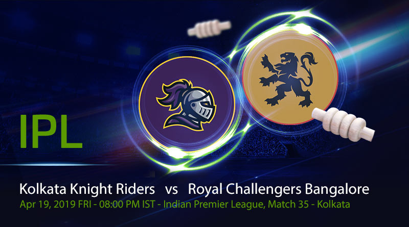 Cricket Prediction Indian Premier League – Kolkata Knight Riders vs Royal Challengers Bangalore – KKR look to get out of the slump against RCB