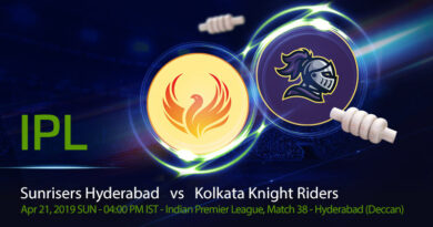 Cricket Prediction Indian Premier League –Sunrisers Hyderabad vs Kolkata Knight Riders – SRH take on KKR in a crucial game