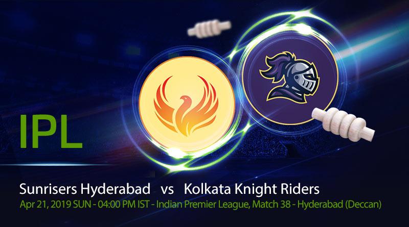 Cricket Prediction Indian Premier League –Sunrisers Hyderabad vs Kolkata Knight Riders – SRH take on KKR in a crucial game