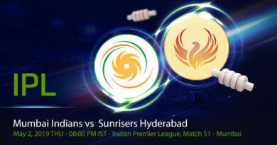 Cricket Prediction Indian Premier League – Mumbai Indians vs Sunrisers Hyderabad – Warner-less Sunrisers Hyderabad take on Mumbai Indians
