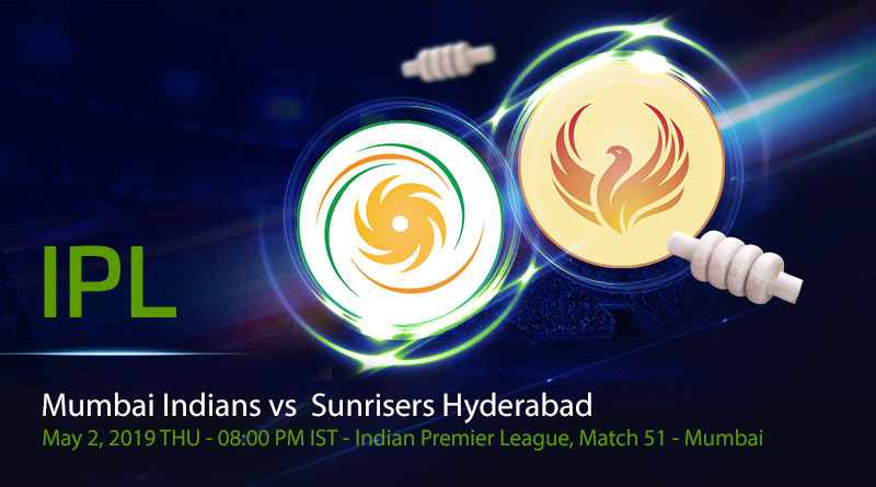 Cricket Prediction Indian Premier League – Mumbai Indians vs Sunrisers Hyderabad – Warner-less Sunrisers Hyderabad take on Mumbai Indians