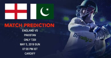 Cricket Prediction Pakistan tour of England 2019 – England vs Pakistan – England take on Pakistan in the T20 game