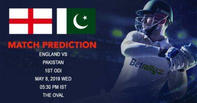 Cricket Prediction Pakistan tour of England 2019 – England vs Pakistan – England take on Pakistan in the first ODI game