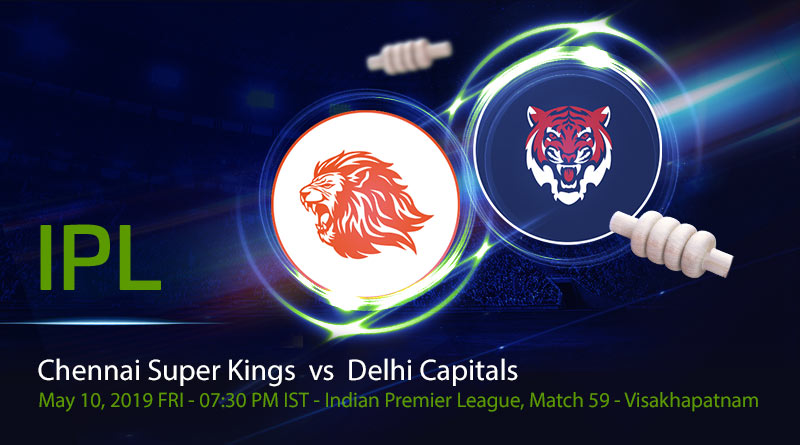 Cricket Prediction Indian Premier League – Chennai Super Kings vs Delhi Capitals – Chennai Super Kings and Delhi Capitals clash in the second qualifier