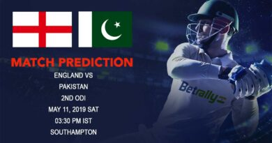 Cricket Prediction Pakistan tour of England 2019 – England vs Pakistan – England and Pakistan look for game time after the abandoned first game