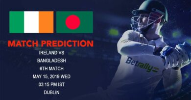 Cricket Prediction Ireland Tri-Nation Series 2019 – Ireland vs Bangladesh – Bangladesh look to continue their good form against Ireland