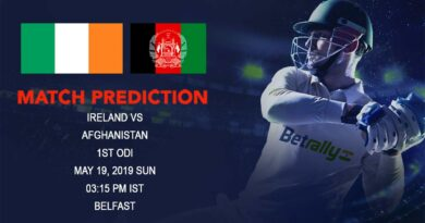 Cricket Prediction Afghanistan tour of Ireland 2019 – Ireland vs Afghanistan – Familiar foes Ireland and Afghanistan meet again