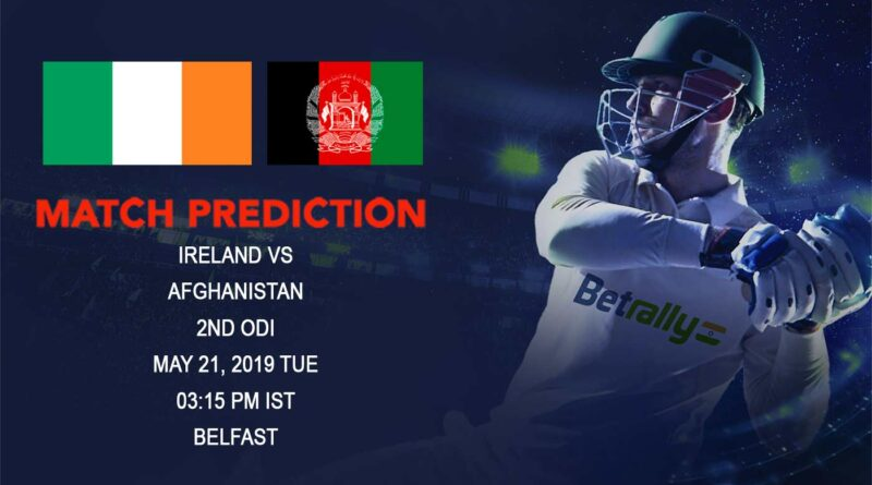 Cricket Prediction Afghanistan tour of Ireland 2019 – Ireland vs Afghanistan – Ireland and Afghanistan clash in the final ODI of the series
