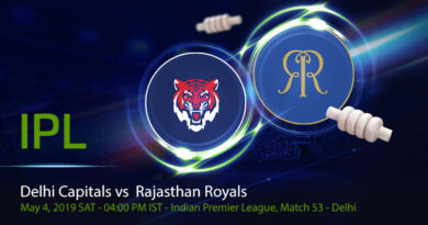 Cricket Prediction Indian Premier League – Delhi Capitals vs Rajasthan Royals – Delhi Capitals take on Rajasthan Royals in their last group game