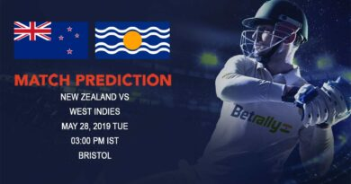 Cricket Prediction ICC World Cup Warm-up Matches 2019 –New Zealand vs West Indies – Fresh off a win New Zealand take on dangerous West Indies