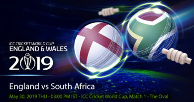 Cricket Prediction World Cup – England vs South Africa – England take on South Africa in the opening game of World Cup