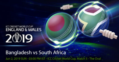 Cricket Prediction World Cup – Bangladesh vs South Africa – Bangladesh take on bruised South Africa in their first game