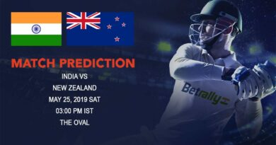 Cricket Prediction ICC World Cup Warm-up Matches 2019 – India vs New Zealand – Favorites India look to begin the World Cup journey well against dark horse New Zealand