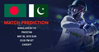 Cricket Prediction ICC World Cup Warm-up Matches 2019 – Bangladesh vs Pakistan – Bangladesh take on Pakistan in a warm-up game