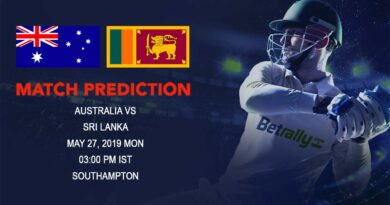 Cricket Prediction ICC World Cup Warm-up Matches 2019 – Australia vs Sri Lanka – Australia take on Sri Lanka in their third warm-up game