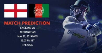 Cricket Prediction ICC World Cup Warm-up Matches 2019 – England vs Afghanistan – Confident Afghanistan look to surprise the tournament favourites England