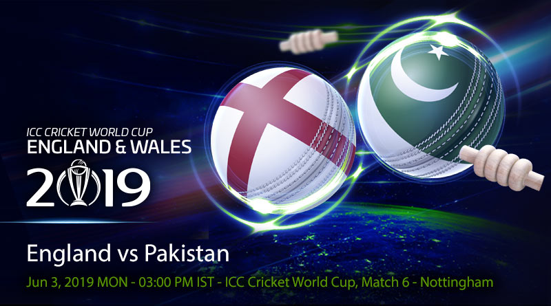 Cricket Prediction World Cup – England vs Pakistan – In-form England take on struggling Pakistan