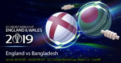 Cricket Prediction World Cup – England vs Bangladesh – England take on impressive Bangladesh