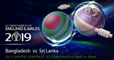 Cricket Prediction World Cup – Bangladesh vs Sri Lanka – Bangladesh take on Sri Lanka in their fourth game