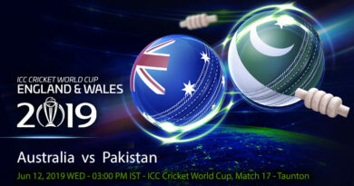 Cricket Prediction World Cup – Australia vs Pakistan – Australia take on mercurial Pakistan