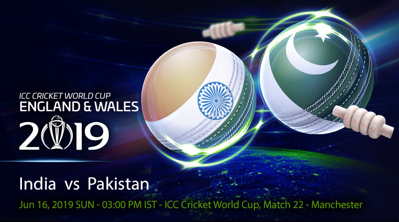 Cricket Prediction World Cup – India vs Pakistan – Arch-rivals India and Pakistan take on each other in a huge game