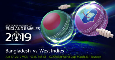 Cricket Prediction World Cup – Bangladesh vs West Indies – Bangladesh take on West Indies in an important fixture