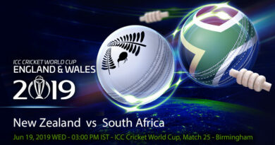 Cricket Prediction World Cup – New Zealand vs South Africa – South Africa look to build momentum as they take on New Zealand