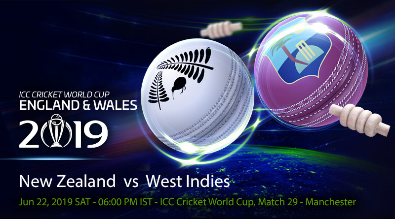 Cricket Prediction World Cup – New Zealand vs West Indies – Calm New Zealand take on mercurial West Indies