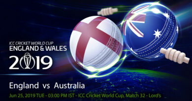 Cricket Prediction World Cup – England vs Australia – Old rivals England and Australia clash in an important fixture